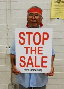 20151015 Keiro Update Meeting Stop Sale Sign 0191